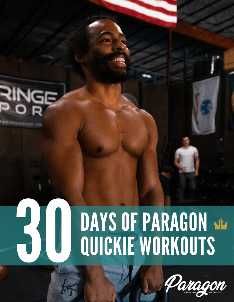 30 Days of Paragon Quickie (30 Minute DB-Only) Workouts