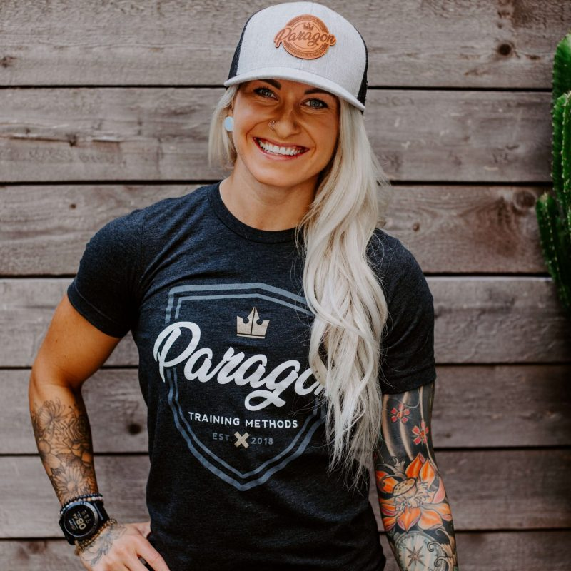 [Pre-Order] Paragon Shield Triblend Unisex Tee – Charcoal Black